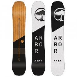 Arbor Coda Rocker Mid-Wide Snowboard (Men's)