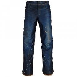 686 Deconstructed Denim Insulated Snowboard Pant (Men's)