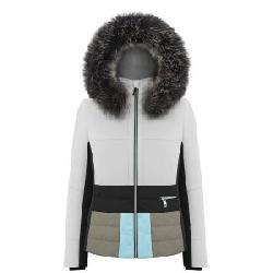 Poivre Blanc Colorblock Insulated Ski Jacket with Faux Fur (Women's)