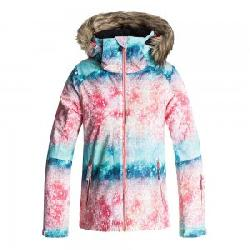 Roxy American Pie Patterned Insulated Snowboard Jacket (Girls')