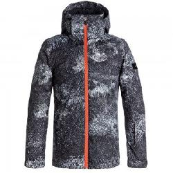 Quiksilver Travis Rice Printed Insulated Snowboard Jacket (Boys')