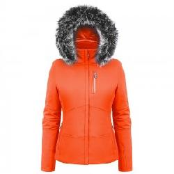 Poivre Blanc Stretch Ski Jacket with Faux Fur (Women's)
