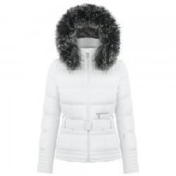 Poivre Blanc Smocked Ski Jacket with Faux Fur (Women's)