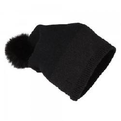Peter Glenn Wool and Lurex Hat with Fur Pom (Adults')
