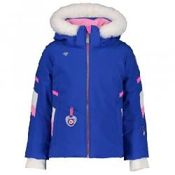Obermeyer Katelyn Insulated Ski Jacket with Faux Fur (Little Girls')