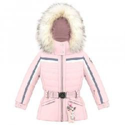 Poivre Blanc Chandler Insulated Ski Jacket with Faux Fur (Little Girls')