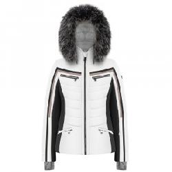 Poivre Blanc Clay Insulated Ski Jacket with Faux Fur (Women's)