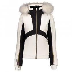Obermeyer Malaki Insulated Ski Jacket with Faux Fur (Women's)