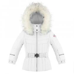 Poivre Blanc Princess Ski Jacket with Faux Fur (Little Girls')