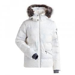 Nils Madeline Print Insulated Ski Jacket with Faux Fur (Women's)