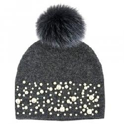 Peter Glenn Mother of Pearl Hat with Pom (Women's)