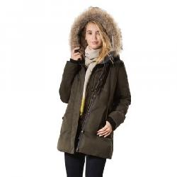 Fera Melrose Coat with Real Fur (Women's)