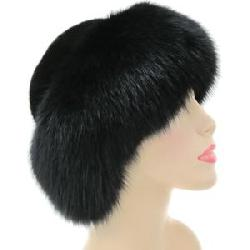 Peter Glenn Beaver Hat with Fox Fur (Women's)