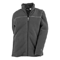 White Sierra Double Bond Fleece Jacket (Boys')