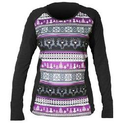 Hot Chillys MTF4000 Sublimated Print Scoopneck Baselayer Top (Women's)