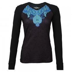 Snow Angel Power Paisley V-Neck Baselayer Top (Women's)