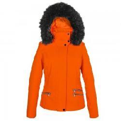 Poivre Blanc Stretch Insulated Ski Jacket with Faux Fur (Women's)