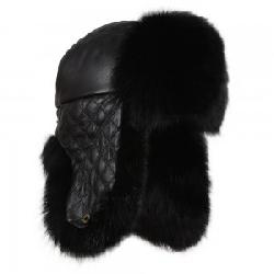 Peter Glenn Quilted Leather Trooper Hat (Women's)