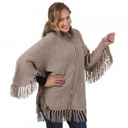 Peter Glenn Knit Hooded Cape (Women's)