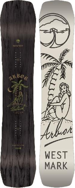 Arbor Westmark Camber Midwide Snowboard