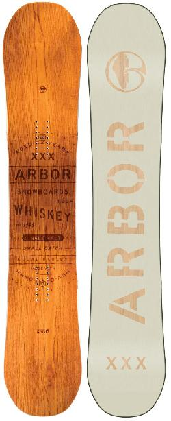Arbor Whiskey Midwide Snowboard
