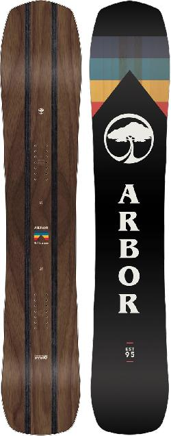Arbor A-Frame Midwide Snowboard