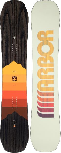 Arbor Shiloh Rocker Midwide Snowboard