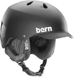 Bern Watts w/ 8 Tracks Audio Snow Helmet
