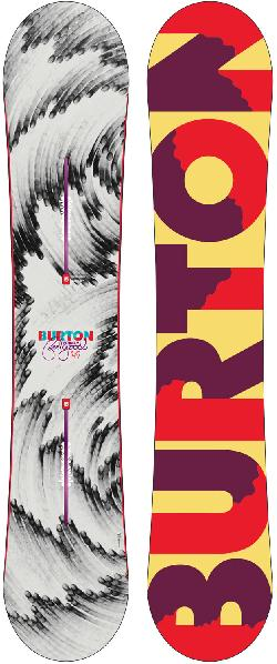 Burton Feelgood Flying V Blem Snowboard