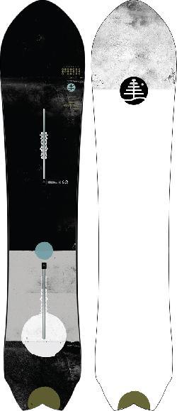 Burton FT Mystery Fish Snowboard