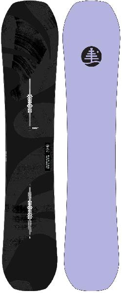 Burton Family Tree Hometown Hero Wide Snowboard