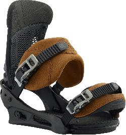 Burton Malavita Leather Snowboard Bindings