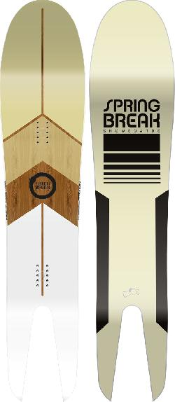 Capita Spring Break Powder Swallow Tail Snowboard