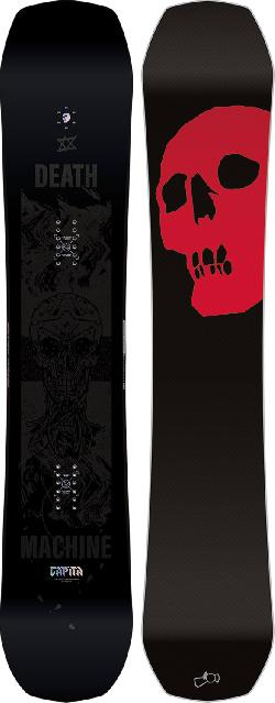 CAPiTA The Black Snowboard Of Death Wide Snowboard