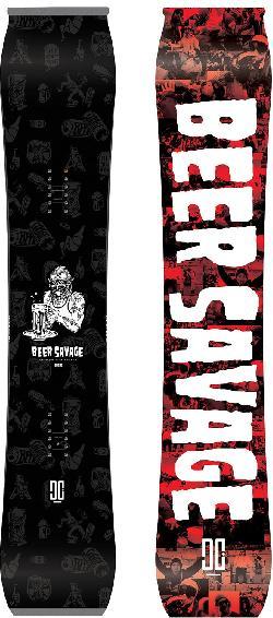 DC Beer Savage Snowboard