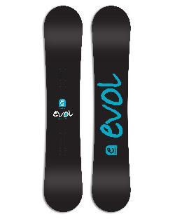 Evol Logo Wide Snowboard