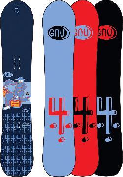 GNU Forest Bailey 4 Snowboard
