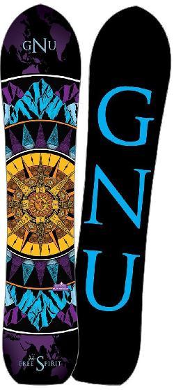 GNU Free Spirit Blem Snowboard