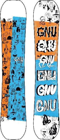 GNU Money Wide Snowboard