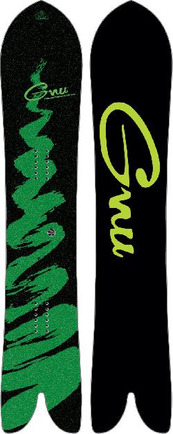 GNU Swallow Tail Carver Snowboard