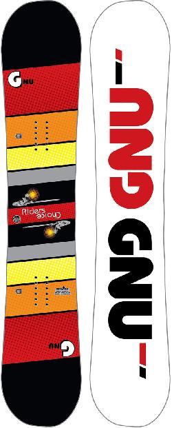 GNU Riders Choice Asym Midwide Snowboard