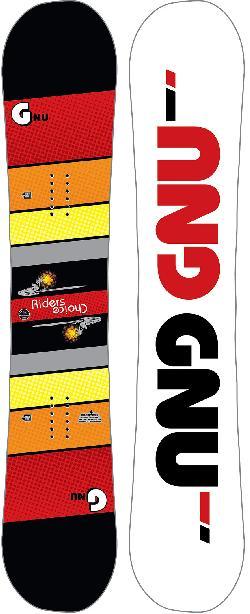 GNU Riders Choice Asym Blem Snowboard