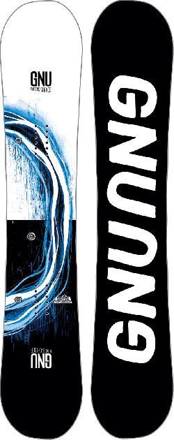 GNU Riders Choice Asym Snowboard