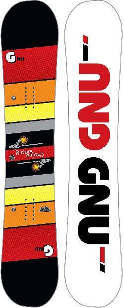 GNU Riders Choice Asym Wide Blem Snowboard