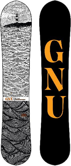 GNU T2B Wide Snowboard
