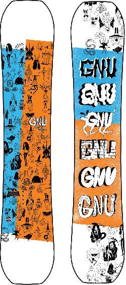 GNU Young Money Snowboard