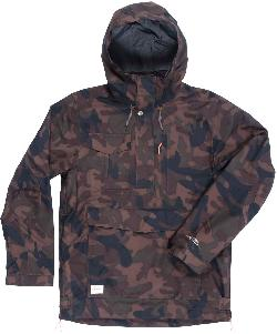 Holden Scout Side Zip Snowboard Jacket