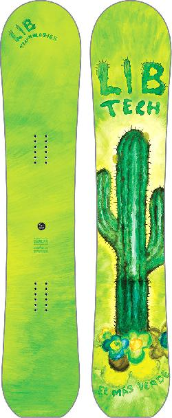 Lib Tech Scottie Wittlake World's Greenest HP Blem Snowboard