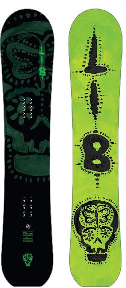 Lib Tech Scottie Wittlake Worlds Greenest HP Snowboard