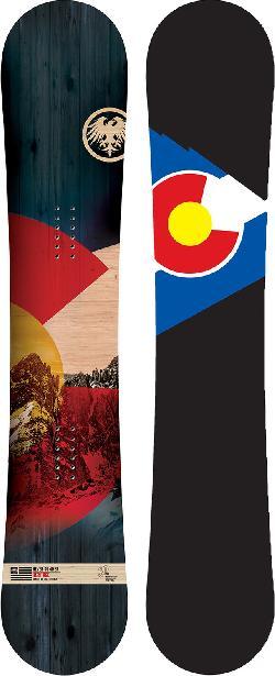 Never Summer Heritage Drag-Free Snowboard